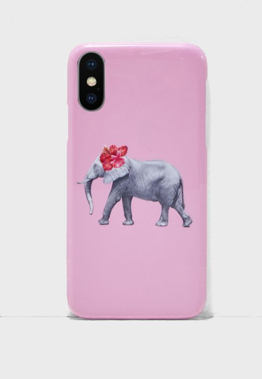 Elephant Flower iPhoneX Case