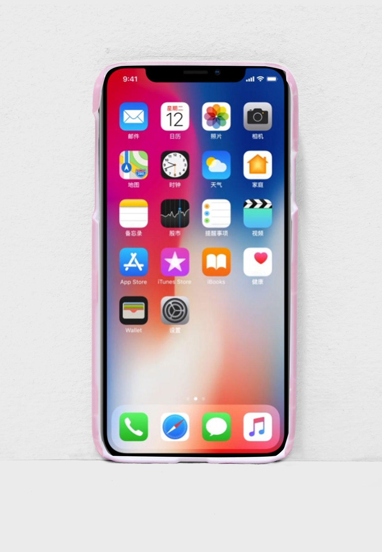 غطاء هاتف آيفون X