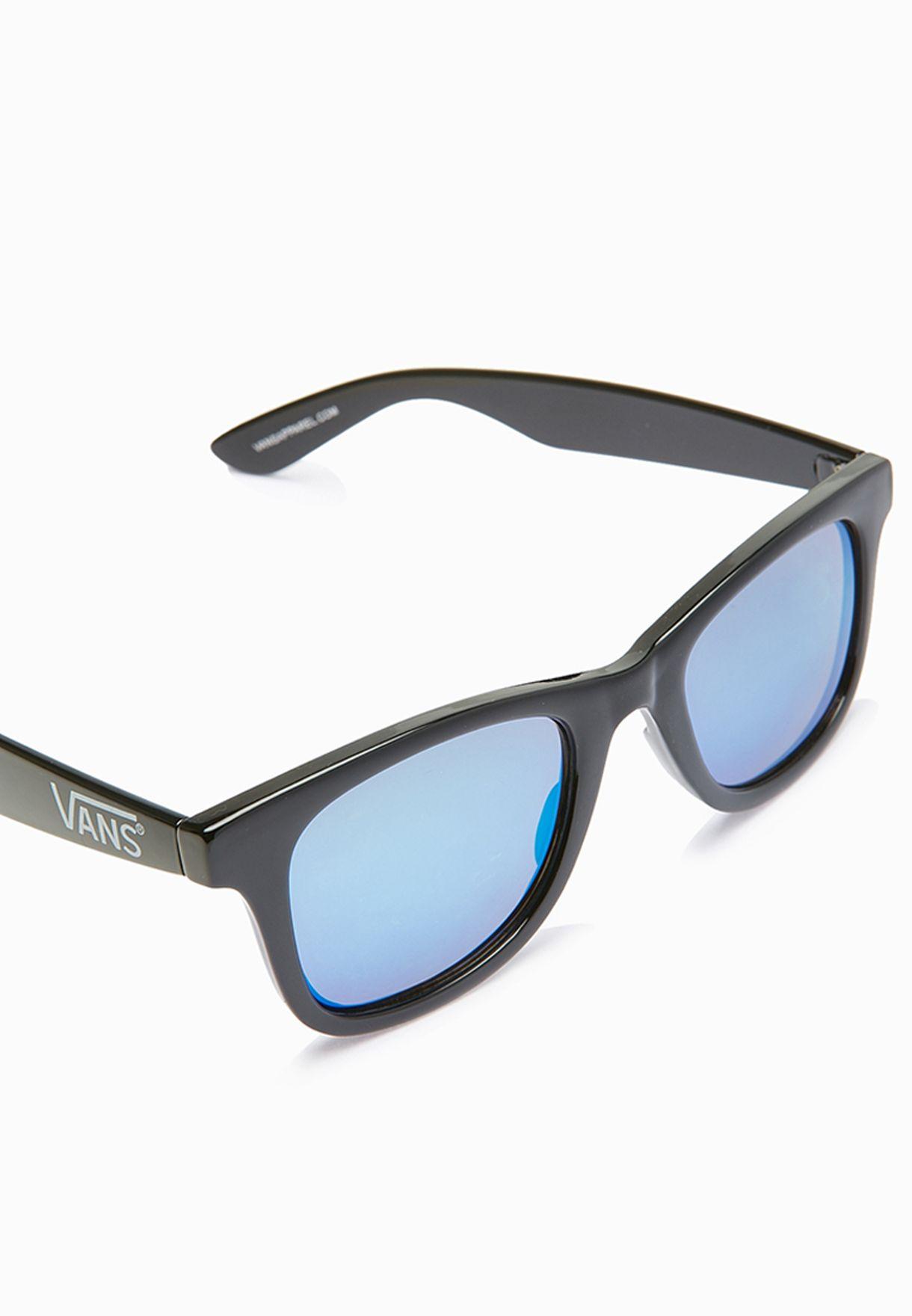 f96de76ac6 Shop Vans black Janelle Hipster Sunglasses VAAC-VXLECD for Women in ...