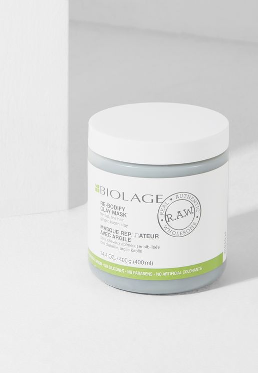 Biolage RAW Rebodify Mask 400ml