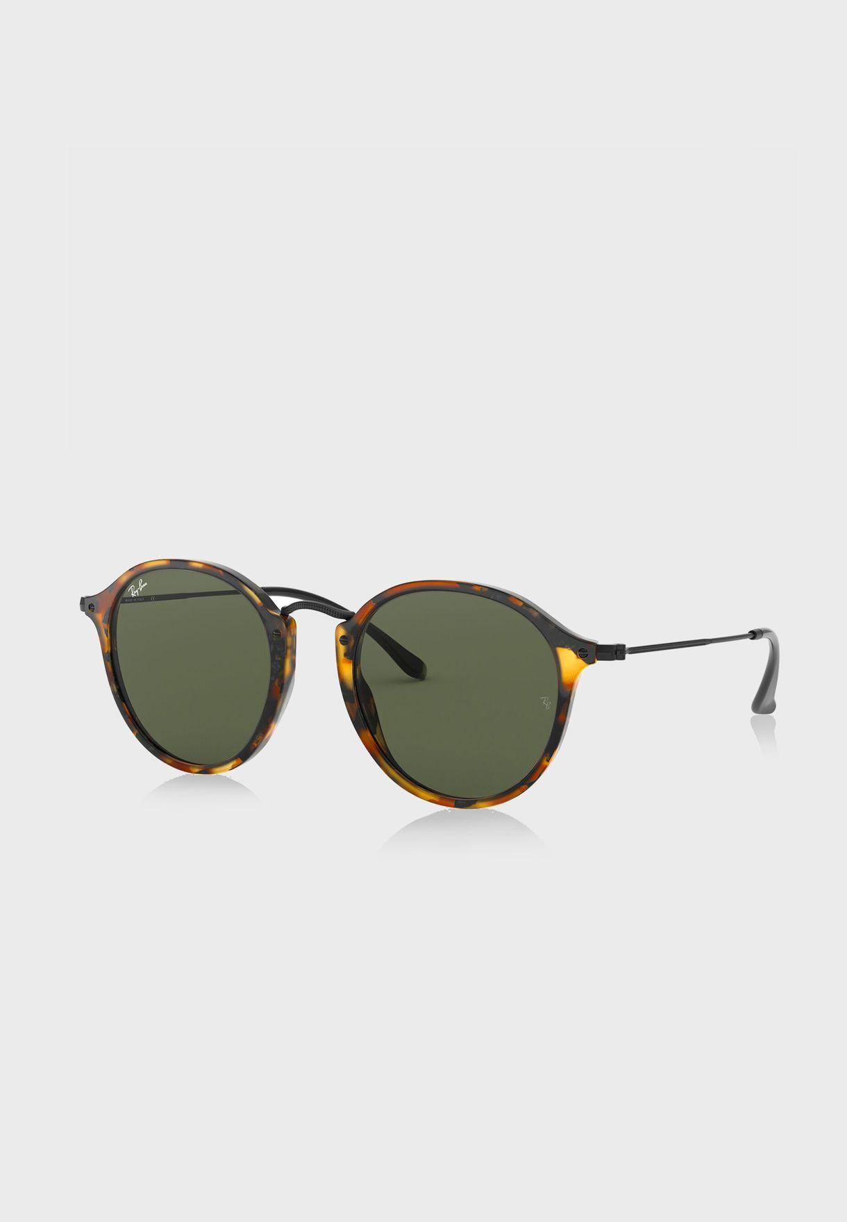 نظارة شمسية دائرية مطبعة