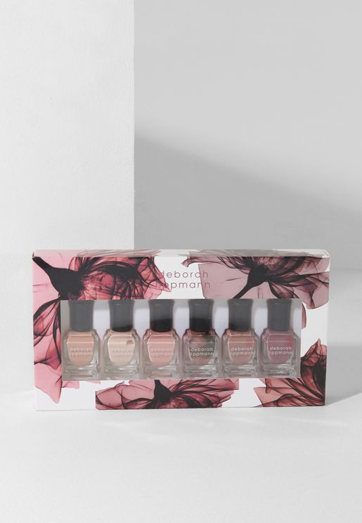 6 Pack Nail Polish Set - Bed Of Roses