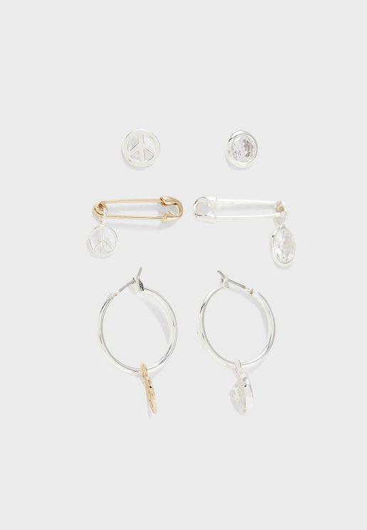 Peace Jewelry Set