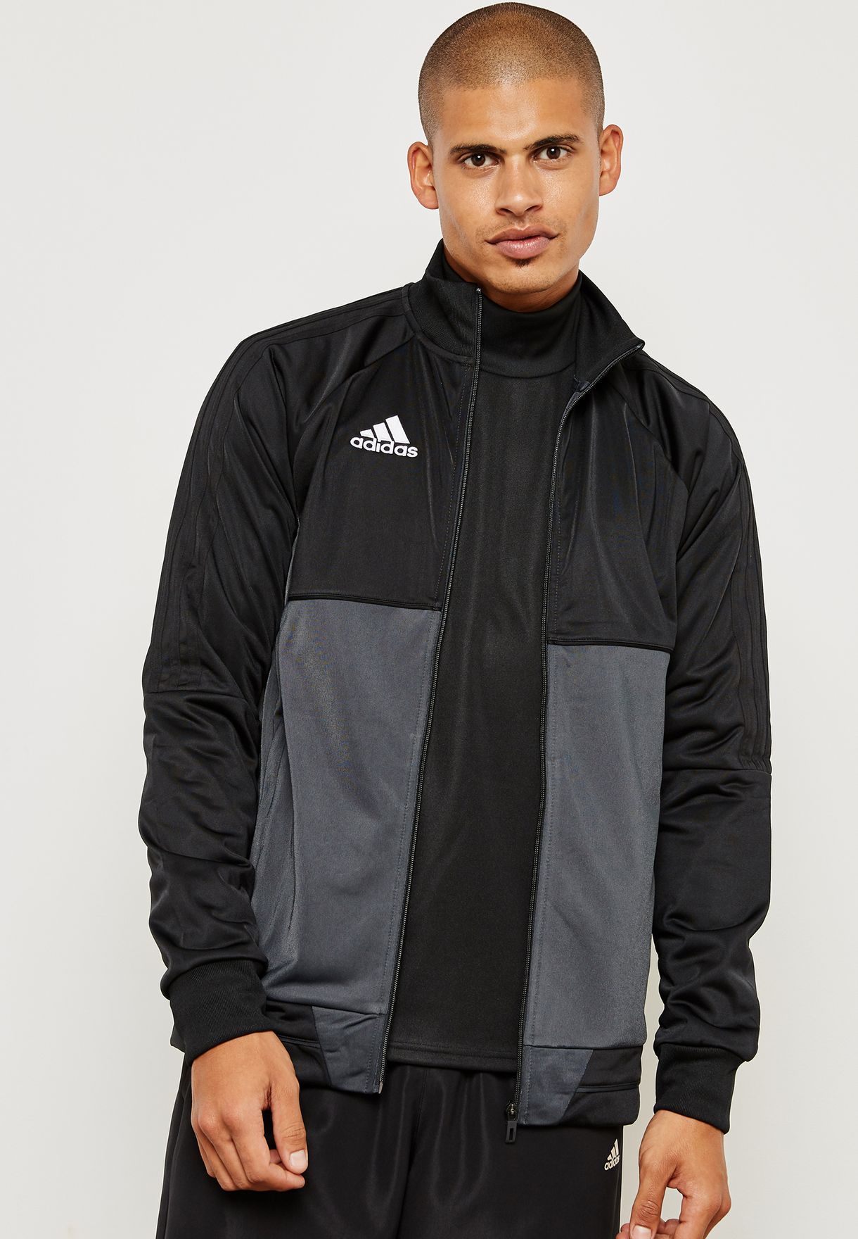 524591b432039 Shop adidas black Tiro 17 Jacket AY2875 for Men in UAE - AD476AT54HGJ