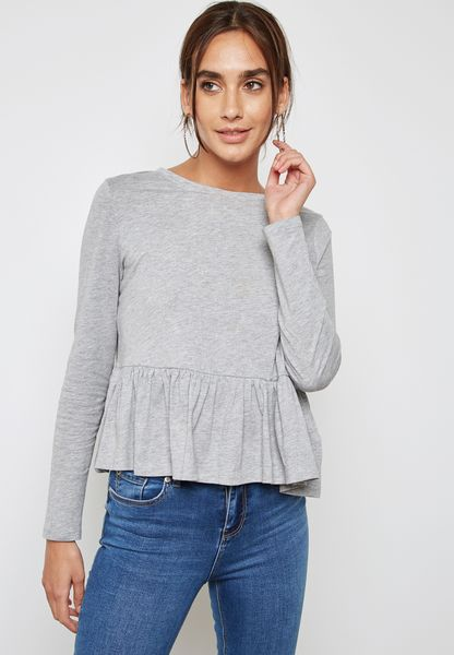 Essential Peplum Top