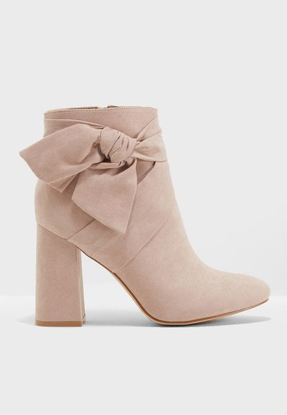 Bow Tie Ankle Boot