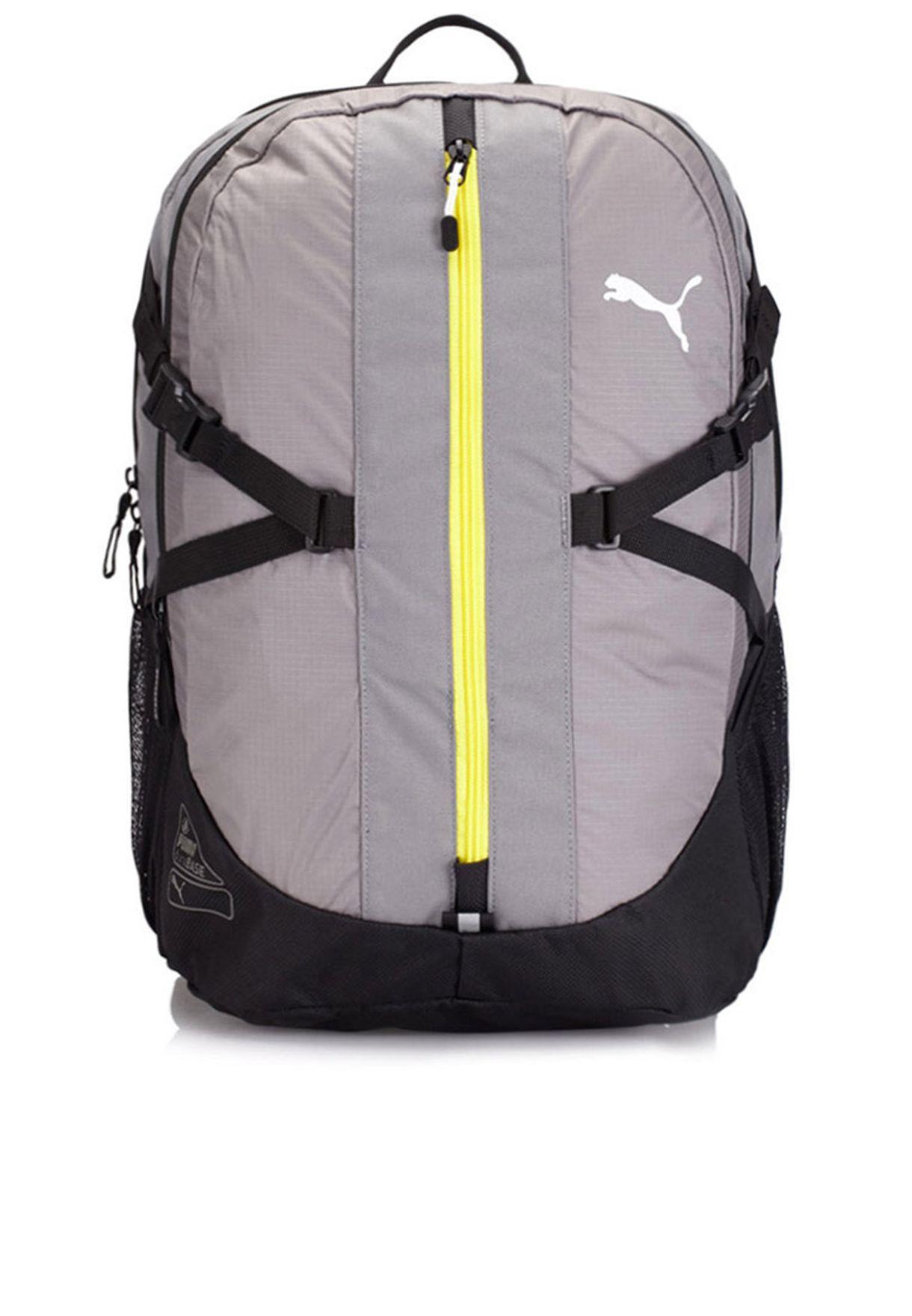 976653cf5d6a Shop PUMA grey Apex Backpack 7294802 for Men in Qatar - PU020AC54HYJ