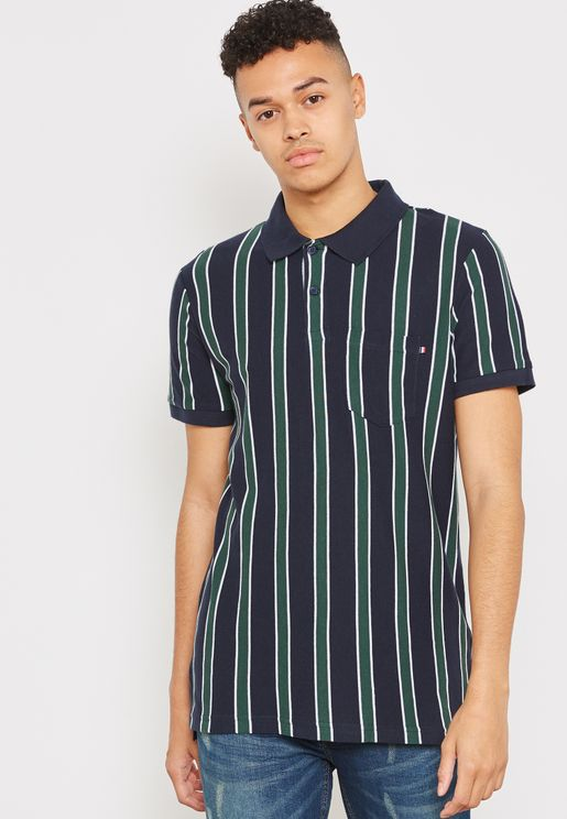 Icon Striped Polo
