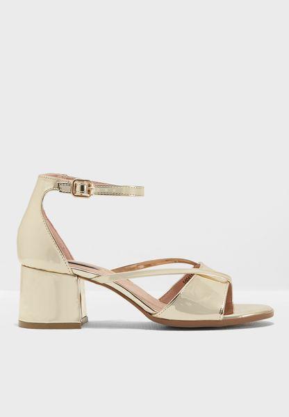 Blakely Low Block Sandal