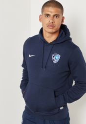 Shop Nike navy Al Hilal Full Zip Hoodie 658498 451HI18 for Men in Saudi NI727AT54HPH