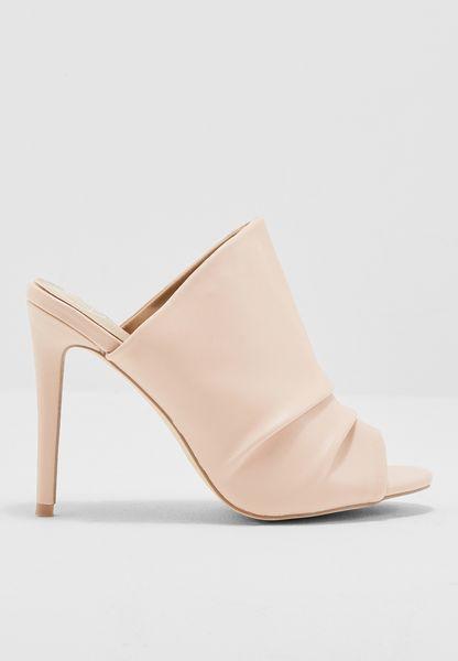Ruched Sandal