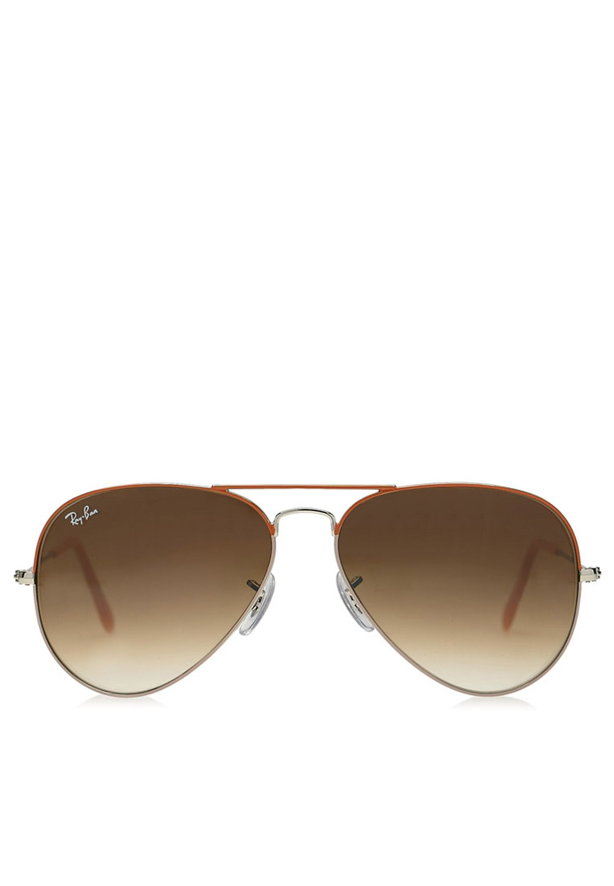 160ee9acc63ccf Shop Ray-Ban gold RB3025 58 Aviators for Men in UAE - RA736AC54BRX