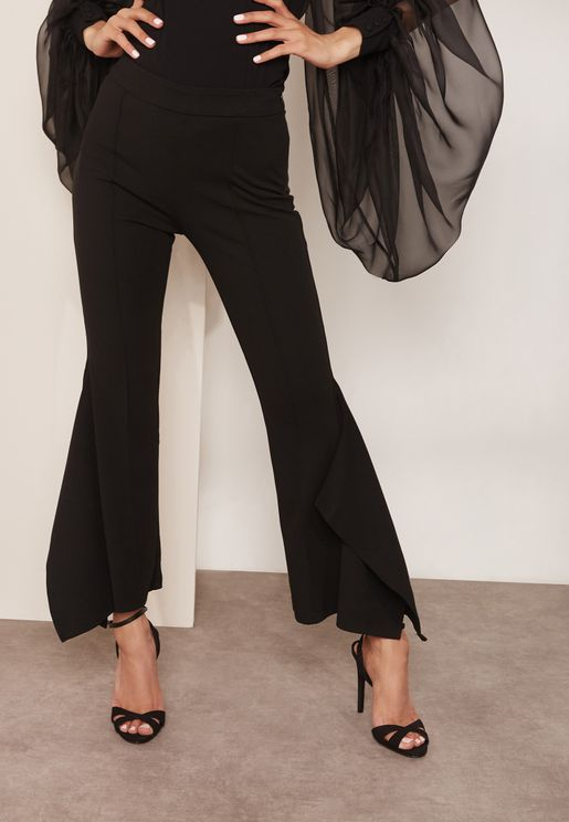 Draped Crop Pants