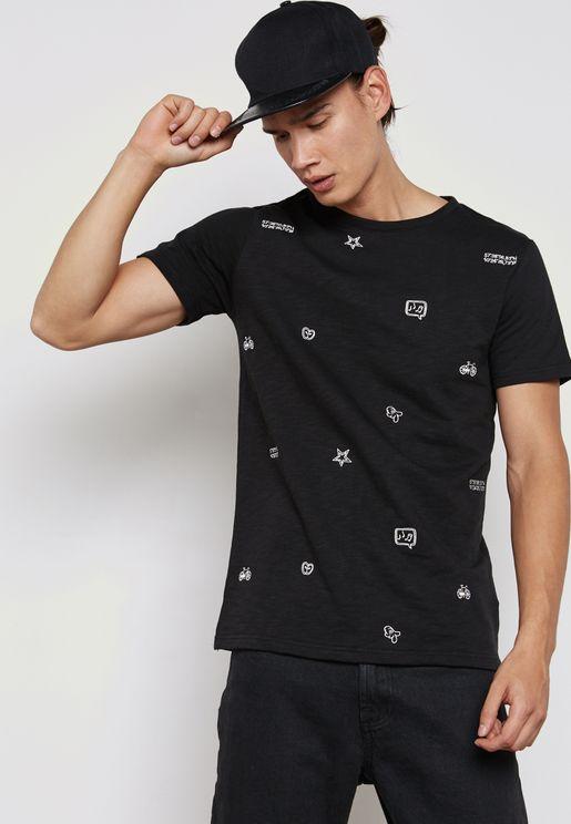 Ralf  Print Printed T-Shirt