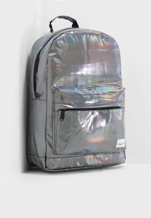 Silver Rave Backpack