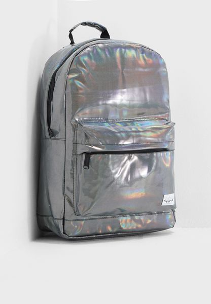 Silver Rave Backpack