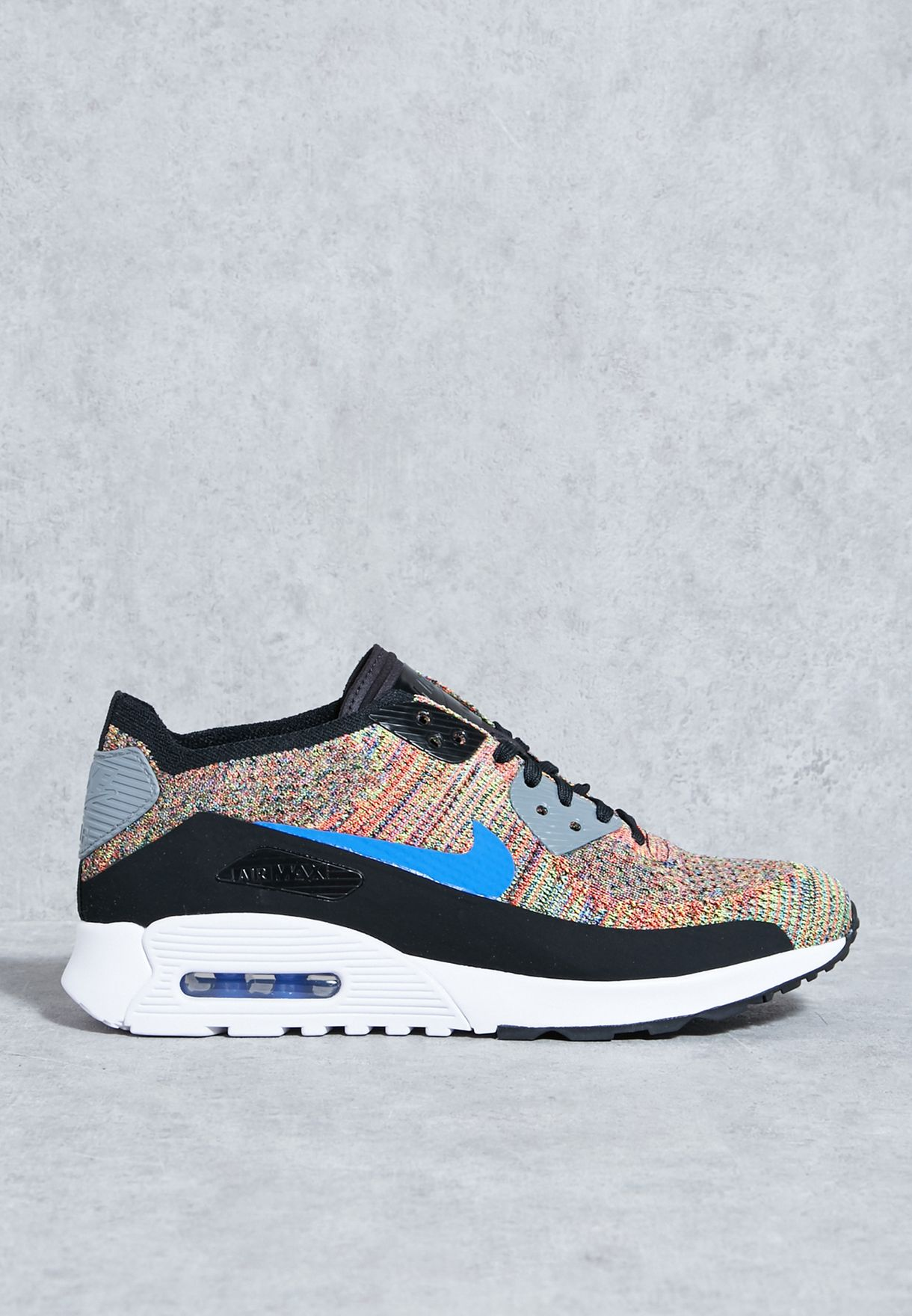 9c0821eb559f5 Shop Nike multicolor Air Max 90 Ultra 2.0 Flyknit 881109-001 for ...