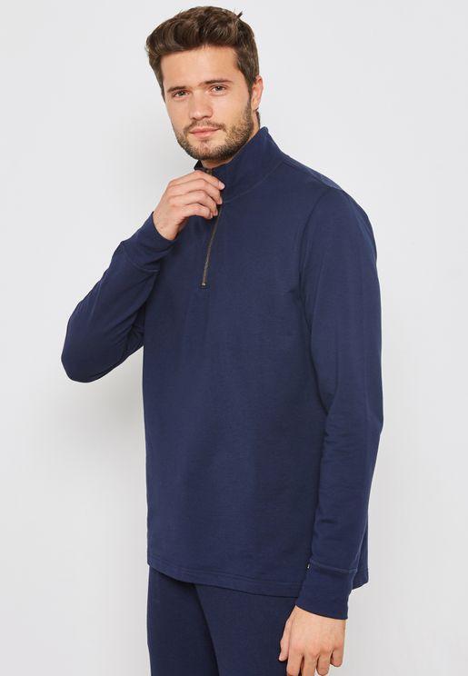 Essential Half Zip Sweater