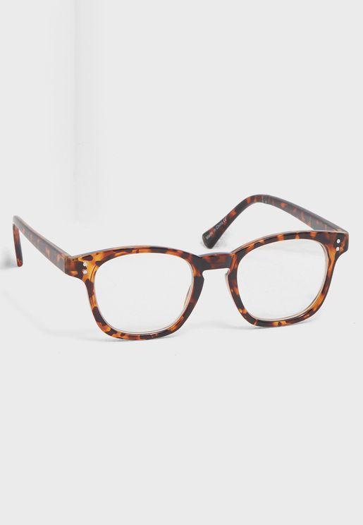 نظارة شمسية مربعة ومطبعة