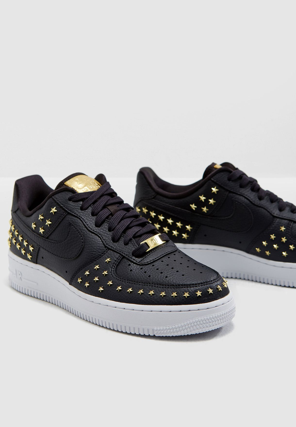 651a8a92e5b39 Shop Nike black Air Force 1 '07 XX AR0639-001 for Women in UAE ...
