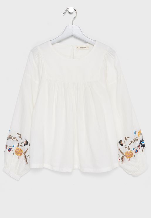Kids Embroidered Blouse