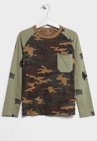 Tween Camo T-Shirt