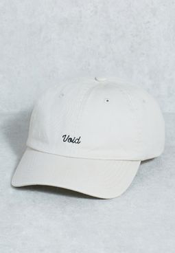 Embroidered Void Cap