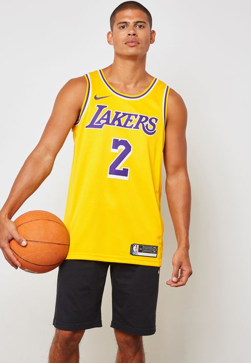 LA Lakers Lonzo Ball Swingman Road Jersey
