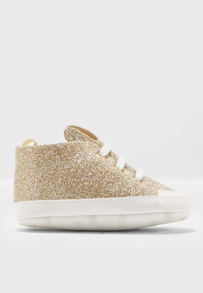 Infant Glitter Bunny Sneakers