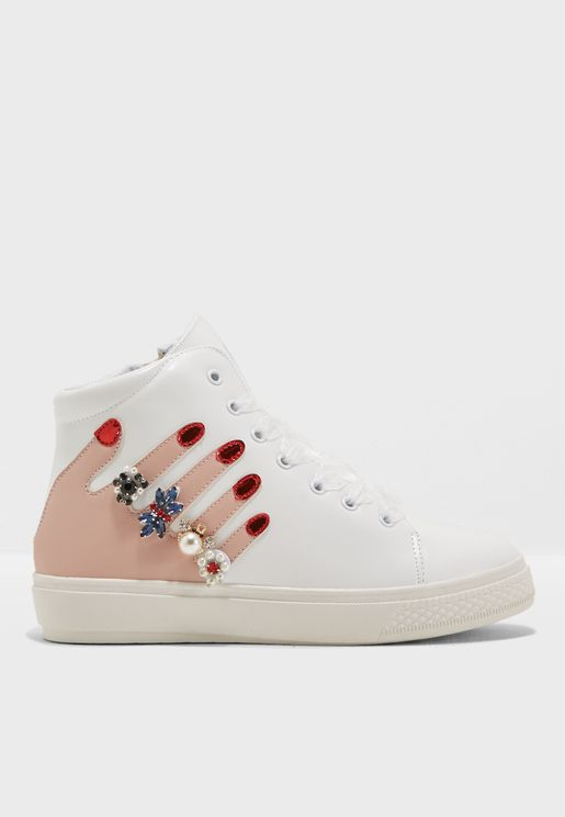Arverne High Top Sneaker