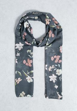 Tamara Weaved Flower Scarf