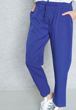 Drawstring Pocket Pants