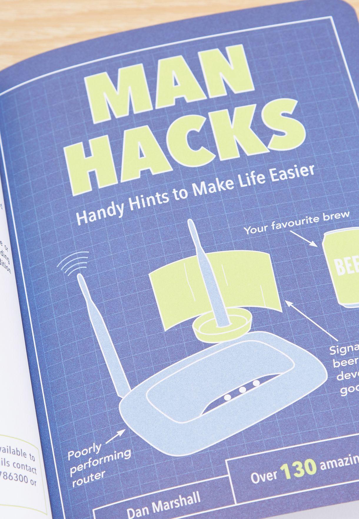 """كتاب """"Man Hacks"""""""