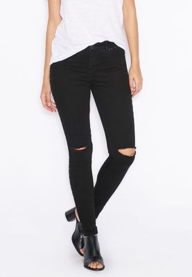 Miss Selfridge Studded Skinny Jeans