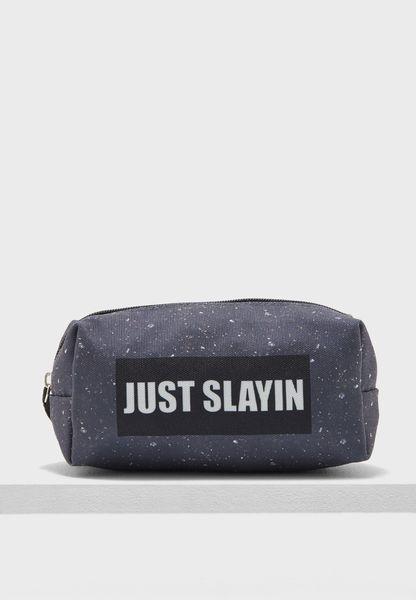 Cosmetic Bag - Just Slayin