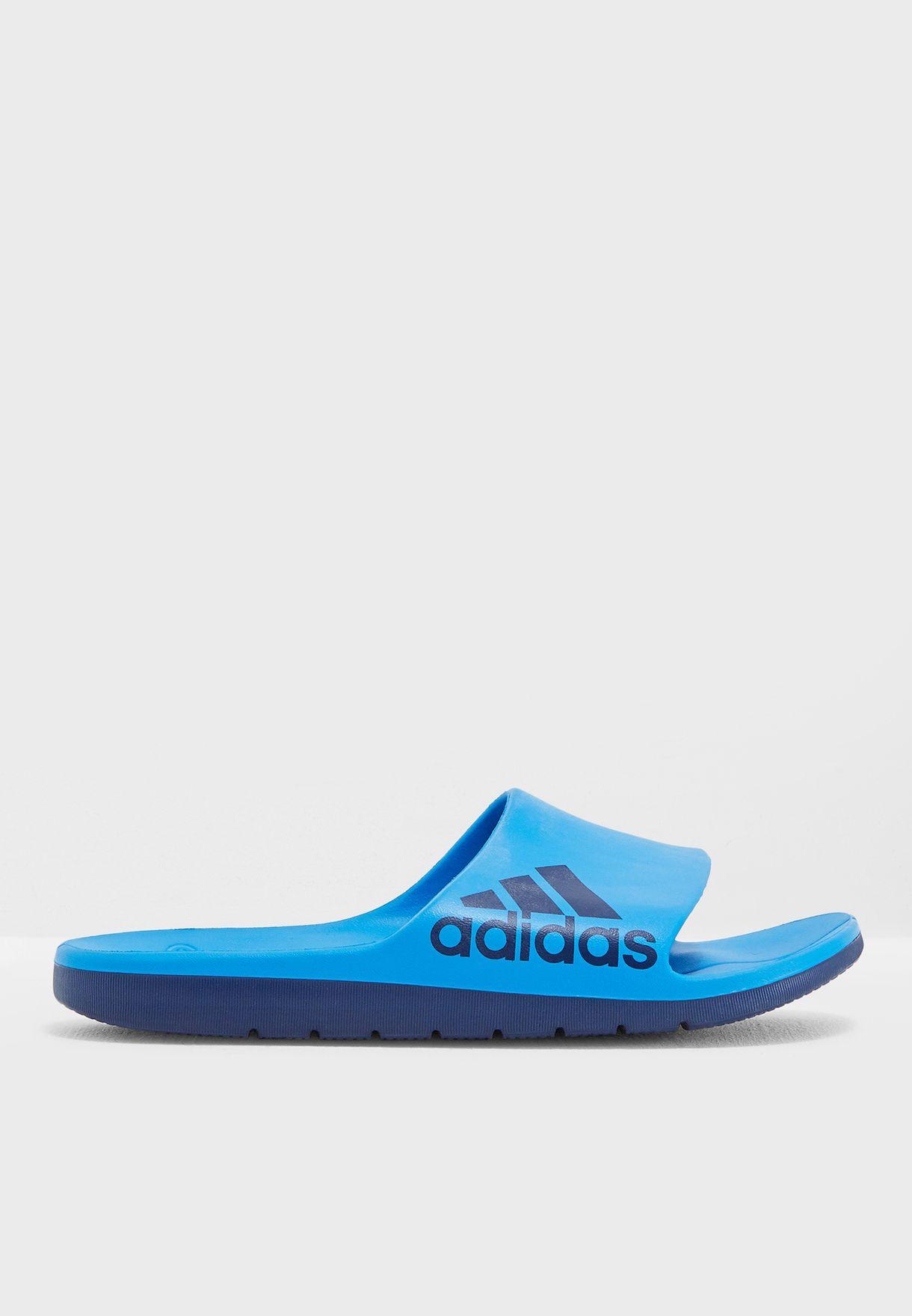 8f76bfaeeb9 Shop adidas blue Aqualette Cloudfoam B43533 for Men in Qatar - AD476SH54VTH