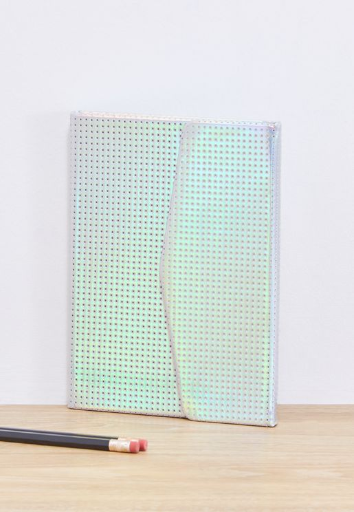 A5 Iridescent Magnetic Close Journal