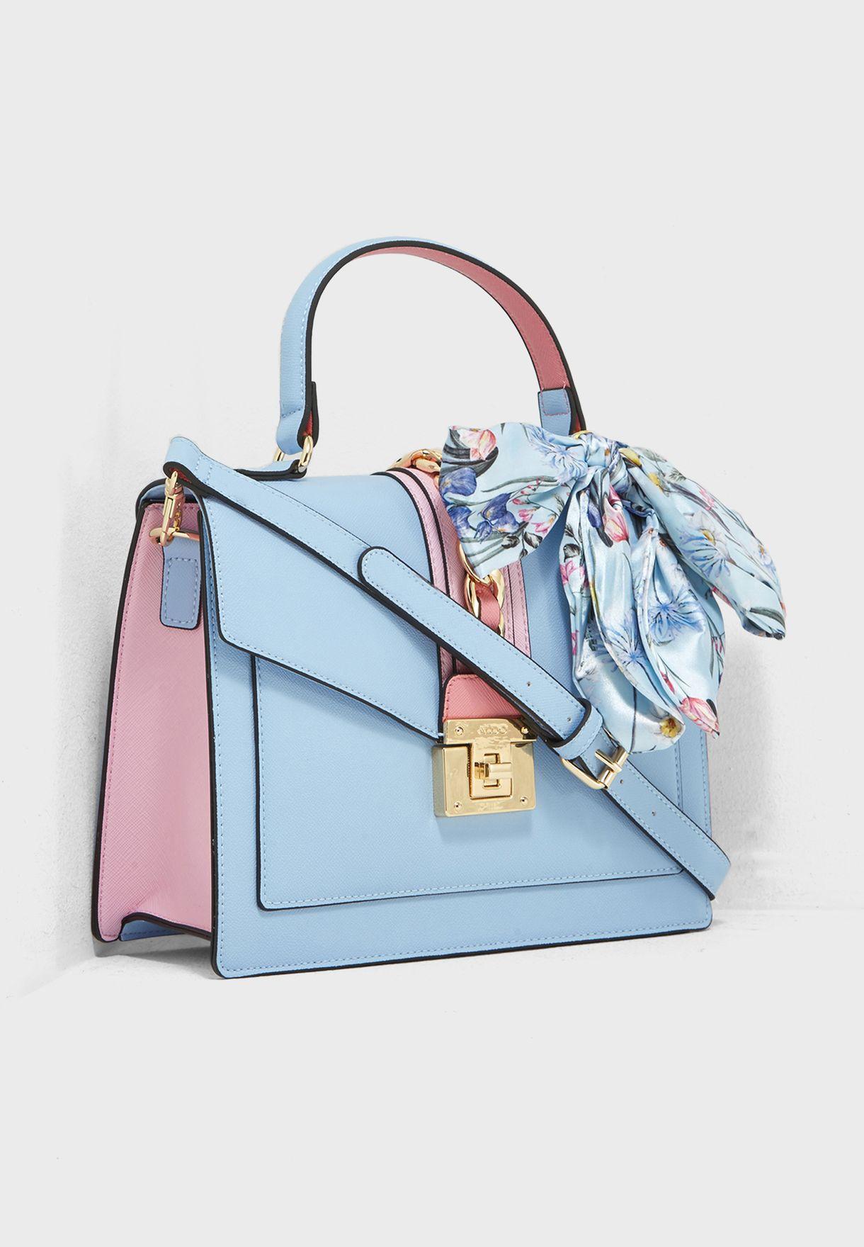 c223b62414c Shop Aldo multicolor Scarf Satchel GLENDAA7 for Women in Bahrain ...