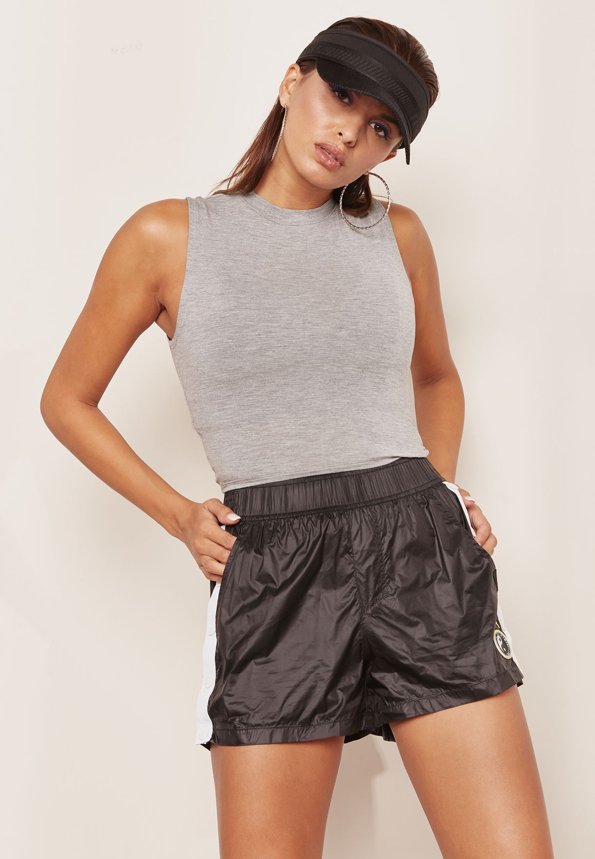 Ruched Cropped Top