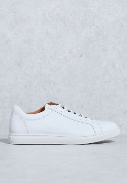 David Leather Sneakers