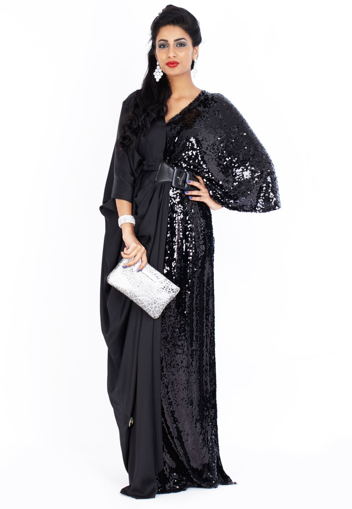 73ff0392a7 Shop Rouge couture black Globe Abaya for Women in UAE - RO431AT44UOT