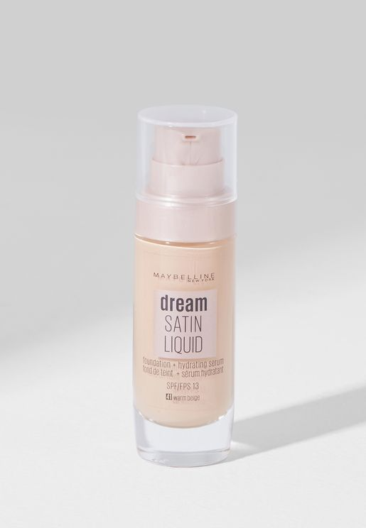 Dream Satin Liquid Foundation 041 Warm Beige