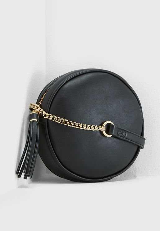 Ochre Circle Crossbody