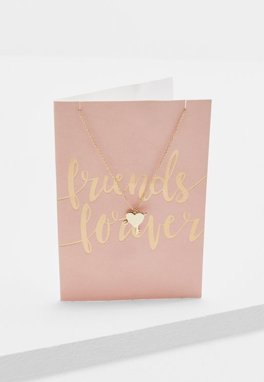 Friends Forever Necklace With Giftcard