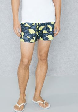 Neon Swim Shorts