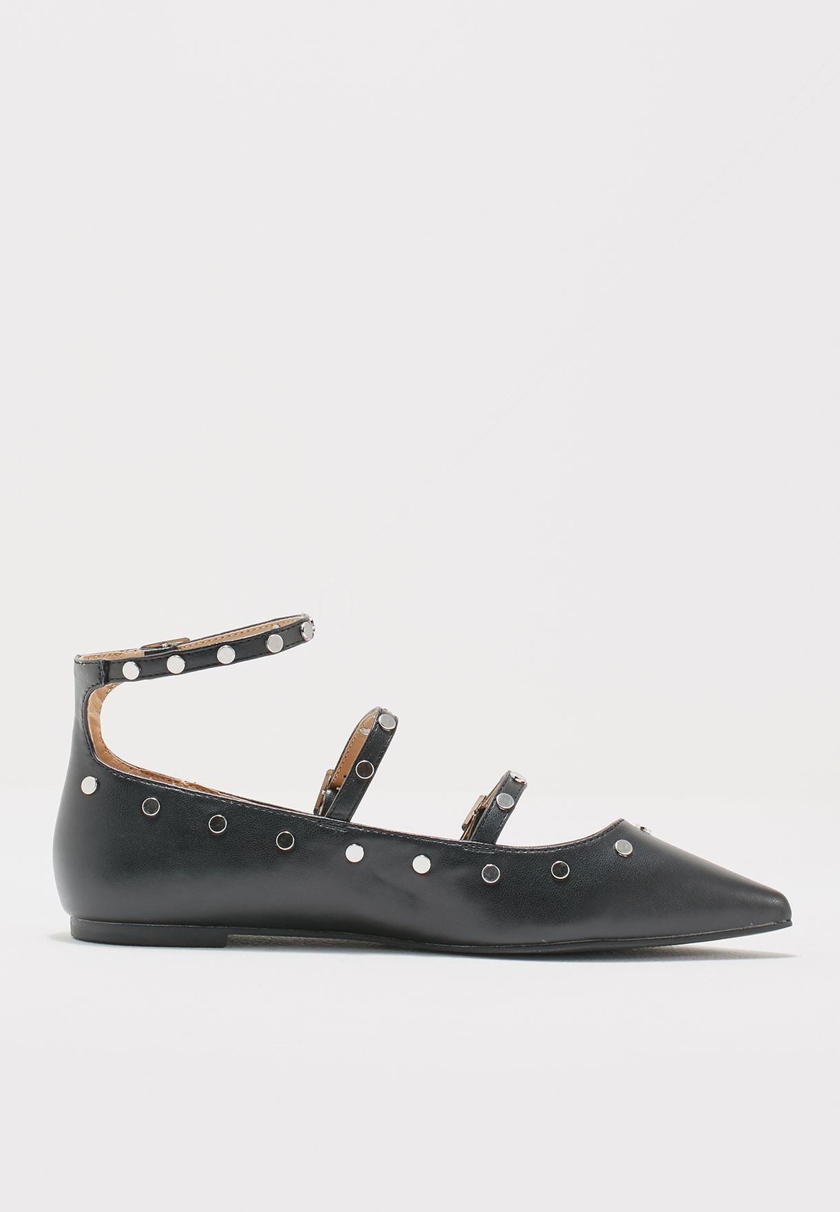 fb4665b6752502 Shop Topshop black Arabelle Studded Shoes 42A05MBLK for Women in Saudi -  TO856SH44IUL