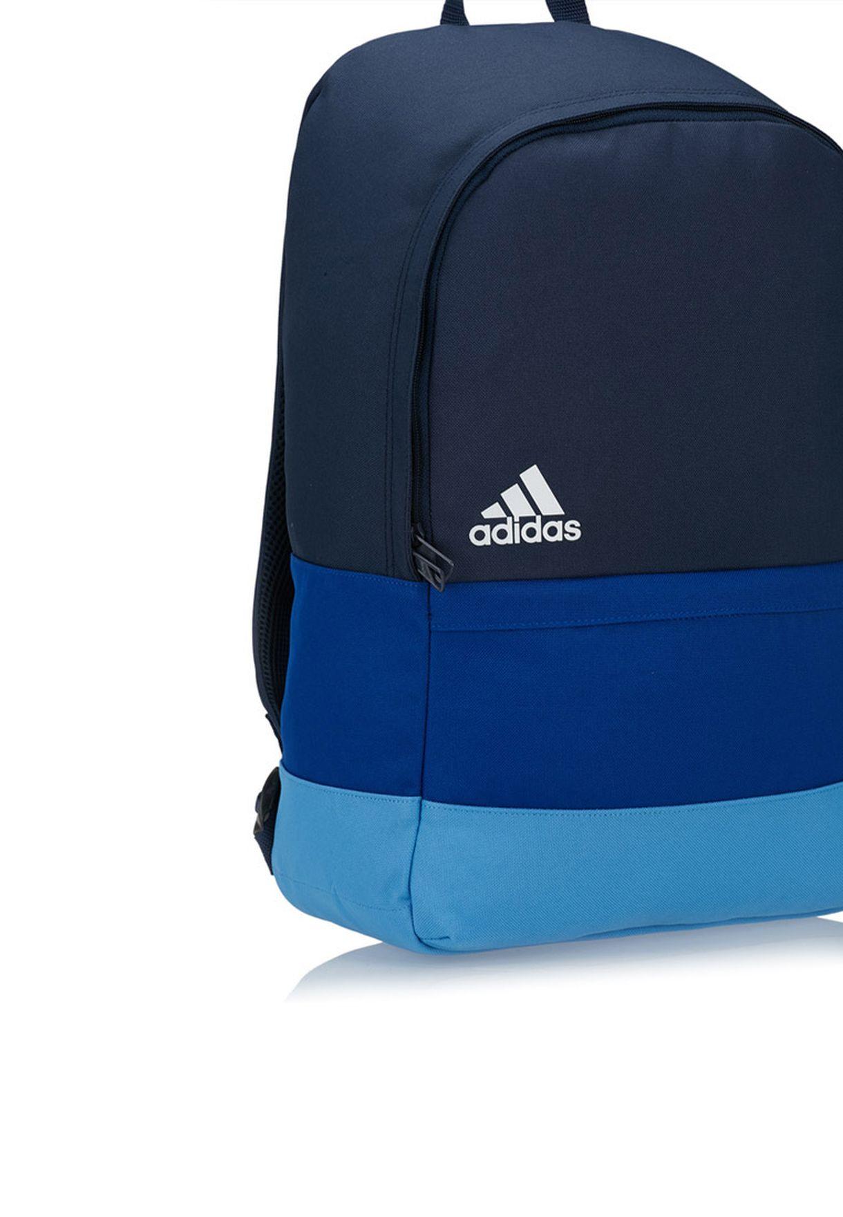 8b28bc923384 Shop adidas multicolor Versatile Block Backpack S19235 for Men in ...