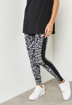 Club Print Leggings