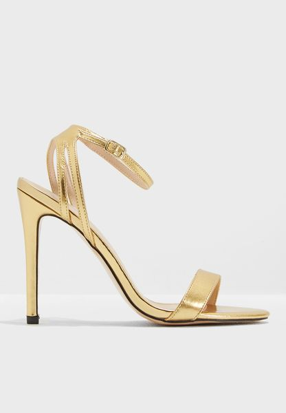 Runaway Ankle Strap Barely There Heel