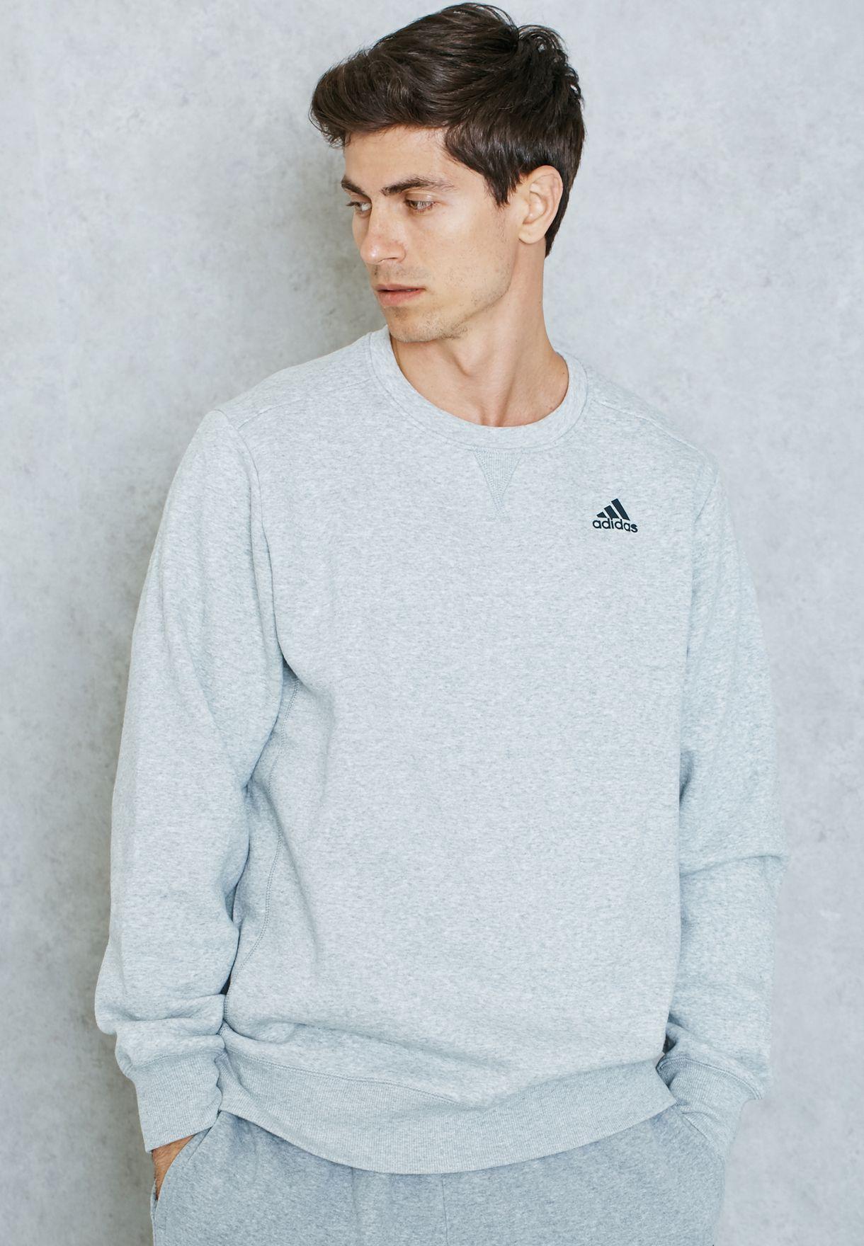 Adidas Essential Sweatshirt Grey